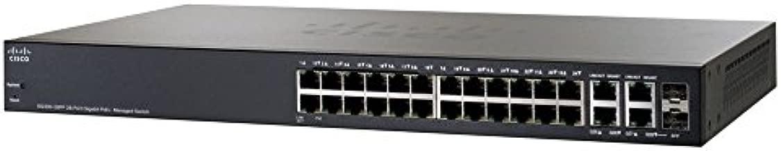 Cisco 28-Port Gigabit PoE+ Managed Switch (SG300-28PP-K9-NA)