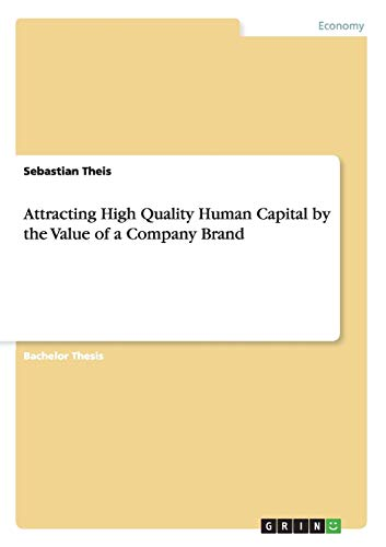 Attracting High Quality Human Capital by the Value of a Company Brand