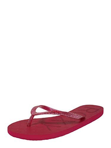 Roxy Viva Sparkle, Zapatos de Playa y Piscina para Mujer, Rosa (Cerise CRI), 37 EU