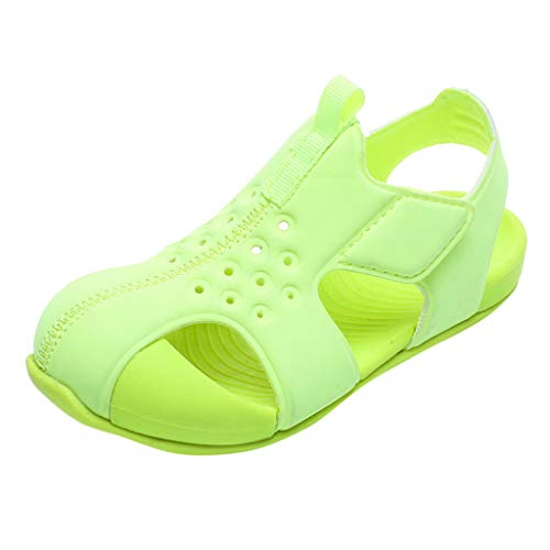 YWLINK Sandalias De Verano para NiñOs Y NiñAs Zapatillas De Playa Baotou Antideslizantes Zapatos De Agua Recorte Zapatos De Agujero Fondo Suave Sandalias Deportivas Regalo De CumpleañOs