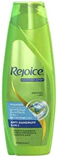 Rejoice Shampoo Anti Dandruff 170ml -Gives You Smooth Hair and has Anti-Dandruff ZPT which Helps Prevent The Recurrence of Dandruff in Your Hair
