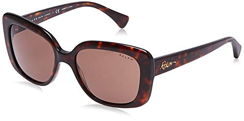 Ralph Lauren RALPH BY 0RA5241 Gafas de Sol, Shiny Dark Havana, 55 para Mujer