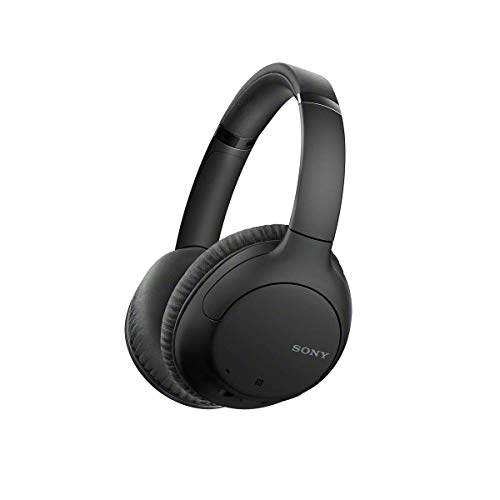 Sony Wireless Noise-Cancelling Over-the-Ear Headphones WH-CH710N - Black (Renewed)