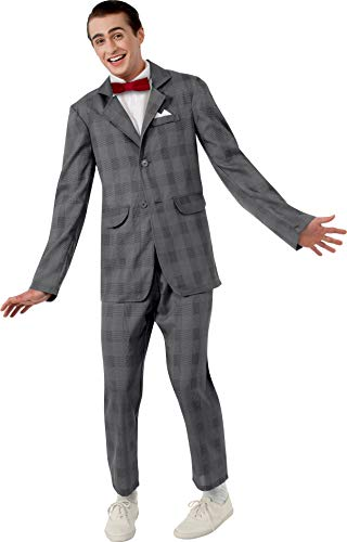 Rubie's Costume Pee Wee Herman Suit, Gray, Standard Costume