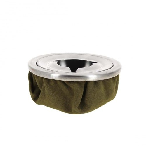 Atomic Sandbag Aschenbecher Grün