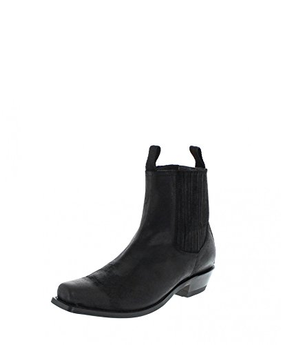 Sendra Boots heren Chelsea boot 14016 Jonas zwart
