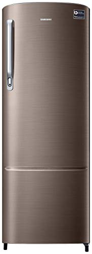 Samsung 255 L 3 Star Direct-Cool Single Door Refrigerator (RR26T373YDX/HL, Luxe Brown)