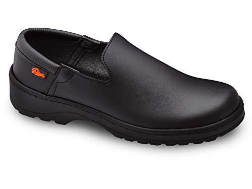 Marsella Negro Talla 38 Marca DIAN, Zapato de Trabajo Unisex Certificado EN ISO 20347.