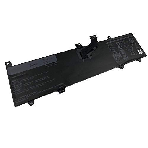 Fully 0JV6J Replacement Laptop Battery Compatible with Dell Inspiron 11 3162 Inspiron 3164 Inspiron 3168 Series OJV6J 8NWF3 PGYK5 0PGYK5-7.6V 32Wh