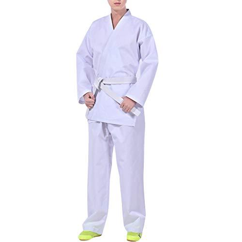 Mingtongli Donne Uo Karate Uniform Set Karate Sportivo di Karate abbigliento Sportivo Fitness Karate Formazione Pratica di insegnento Sportswear Abbigliento Pantaloni Kit