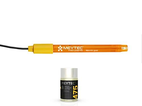 ORP Elektrode Gold - Genaue Ersatz-ORP/Redox-Elektrode für Schwimmbad, Aquarium, Labor mit Pufferlösung Redox (ORP) 475mV