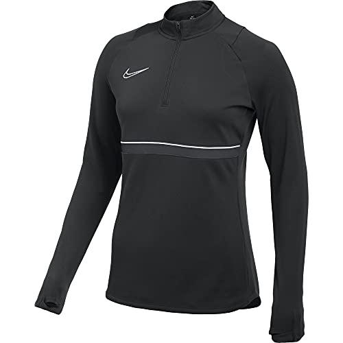 NIKE CV2653 W NK Dry ACD21 Dril Top Sweatshirt Women's Black/White/Anthracite/White M