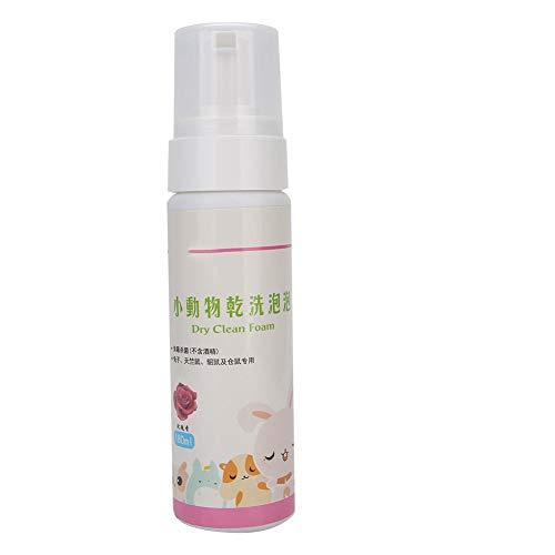 XiangXin Tragbarer chemischer Reinigungsschaum, chemischer Reinigungshamster chemischer Reinigungsschaum, Krankheit 180 ml Haustierbedarf Kaninchen-chemischer(Rose Flavor)