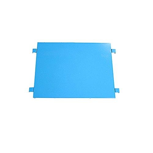 カゴ台車 カゴ車 オプション 棚板 中間棚板 W95×D80×H170(cm)台車用(1枚) (ブルー)