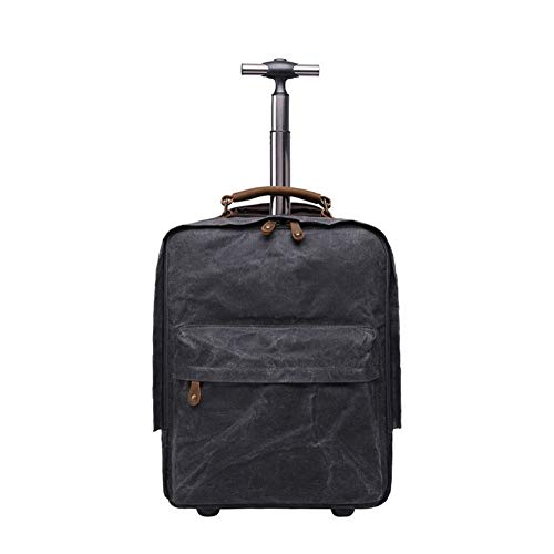 Check Out This Lightweight Expandable Travel Luggage Carry On Suitcase Wheels Canvas Cabin Trolley M...