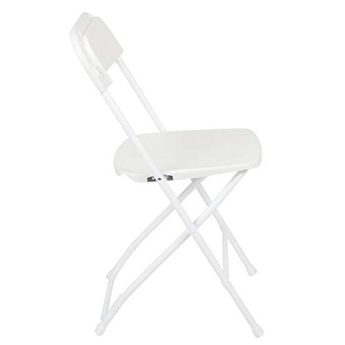 HERCULES 800-pound capacity Plastic Folding Chair