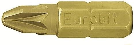 PH1/X 25/Mm Eurobit 2702/brocas para taladro 5/unidades Amarillo