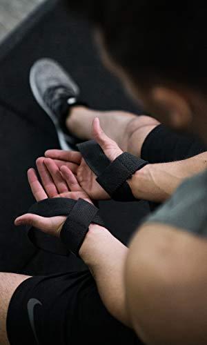 Profi Zughilfen (gepolstert) für Krafttraining, Bodybuilding, Gewichtheben & Fitness – für Damen und Herren – von Fitgriff - 4