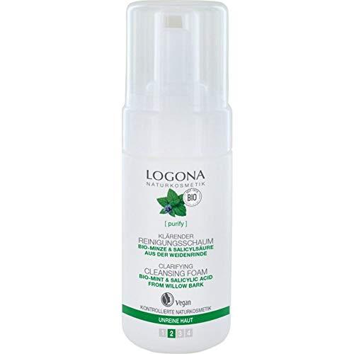 Logona Bio klärender Reinigungsschaum (2 x 100 ml)