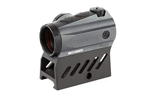 Price comparison product image Sig Sauer SOR41301 ROMEO 4M Low Profile Red Dot 0.5 MOA Gun Scope (1x20mm,  Graphite)