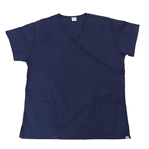 Pet Grooming Kiel, Kwaliteit Ademend Werkkleding Kostuum voor Dierenziekenhuis Pet Beauty Shop Supply (Donkerblauw)(M-donkerblauw)