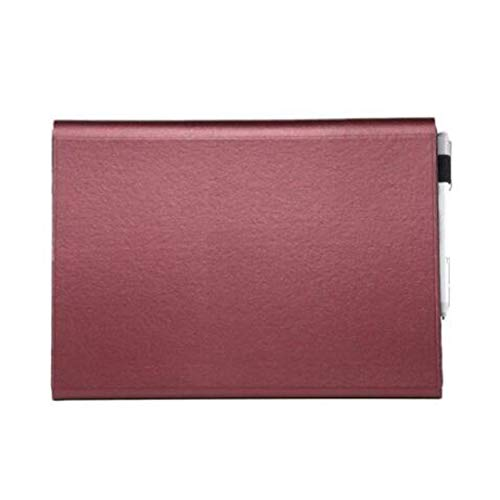 GELing 12.3 Pulgadas Funda de Fieltro para Macbook para Surface Pro4/5,Surface Pro3,Surface Go,Surface Pro6 12.3 y Otros Tablets de 13-12.3 Pulgadas,Rojo,Power Pack