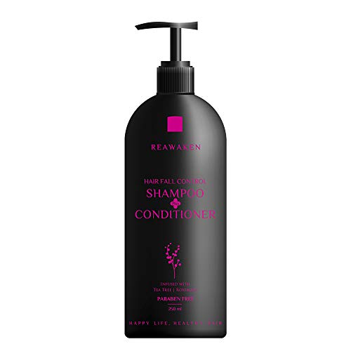 Reawaken Hair Fall Control Shampoo Conditioner 250 ml Promotes Hair Growth, Reduces Hair Fall, Soothes Scalp, Nourishes &...
