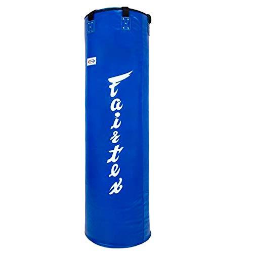 Fairtex Heavy Bag 7 Feets HB7 Blue Muay Thai Gear Kickboxing MMA Un-Filled