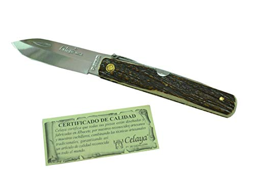 Messer Celaya Classic Machete Hirschgeweih 7,5 cm