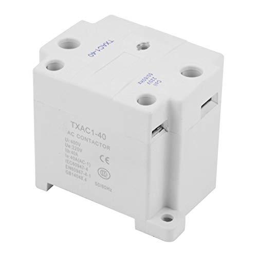 L-Yune,bolt 1pc TXAC1-40 UI400V 40A Unipolar Uno NO AC Contactor for moldear por inyección de la máquina Contator Eletrico 220V 50 / 60Hz