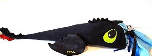 Hobby Welt kreativ Schultüte Kuscheldrachen, Nähset, 90cm, mit Volumenvlies, verwandelbar als Kissen