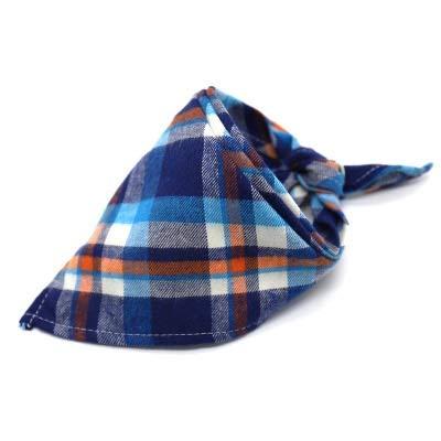 Hot Koop Verstelbare Pet Dog Cat sjaal Tie Bowtie Stropdas Bandana Kraag halsdoek Hond Accessories Grooming (Color : D, Size : 42 42 64CM)