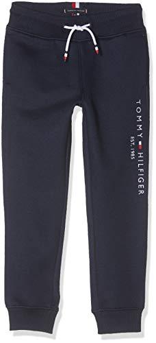 Tommy Hilfiger Essential Sweatpants Set 1 Pantalones, Azul (Blue Cbk), (Talla del Fabricante: 86) para Niños