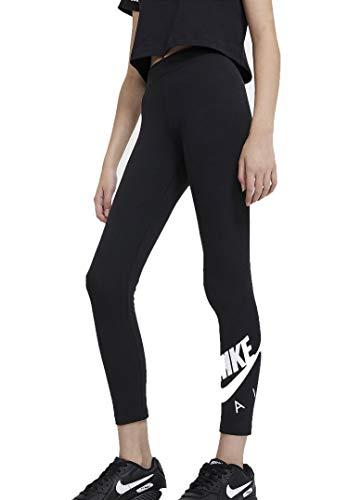 Nike Jungen Air Favorites Leggings, Schwarz-Weiss, S