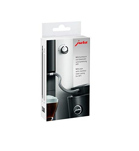 JURA Tubo per Il Latte con Rivestimento in Acciaio Inox HP1, Argento