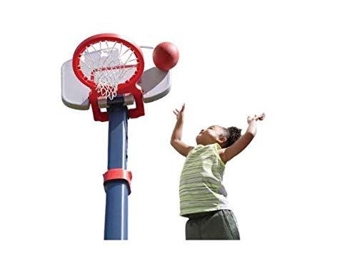 "Find Cheap Basketball Hoop – 15 Lb – Sturdy, Adjustable, Portable with 6"" Jr. Basketball – A..."