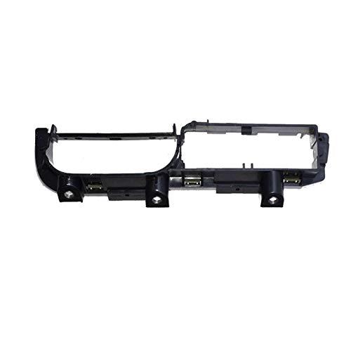 Hermoso Coche Delantero Izquierdo Panel Master Ventana Interruptor Soporte de retención 3B1867179C Ajuste para Volkswagen Passat B5 1998-2004 3B1867179B 3U1 867 (Color : Black)