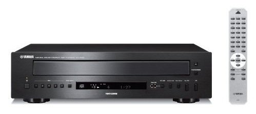 Yamaha PlayXchange Continuous Playing 5-Disk CD Changer with Shuffle Mode, Disc Intro, 40-Track Random or Programmable Play and Remote Control that works up to 20 feet away