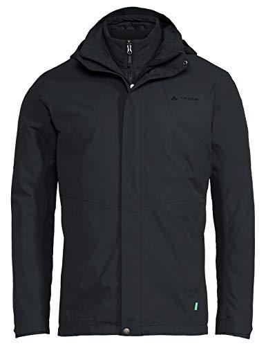 VAUDE Herren Men's Caserina 3in1 Jacket II Doppeljacke, Phantom Black, L