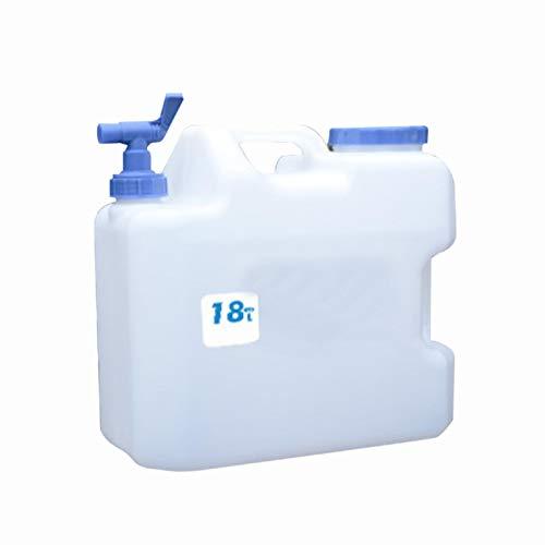 Cheerfulus acqua Tanica con rubinetto, acqua contenitore Tanica per auto, campeggio, Serbatoio acqua