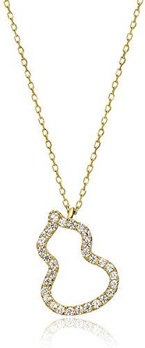 CKAWM Halskette Anhänger Halskette Silber Weibliche Schlüsselbeinkette Hebezeug Anhänger Halskette Kette Match Zubehör, um Freundin Geburtstagsgeschenk zu senden