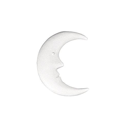 Rayher 3321400 Styropor-Mond, 23 cm