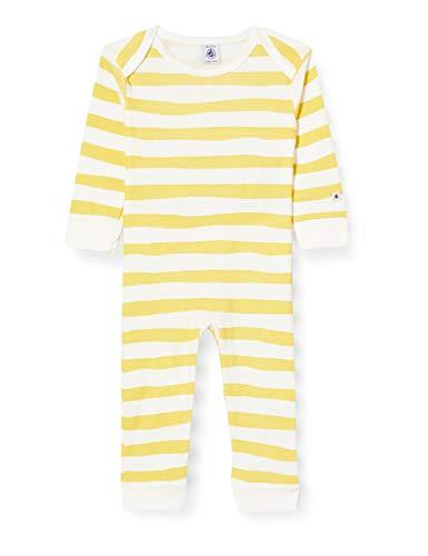 Petit Bateau 5588301 Pijama, Trigo/Marshmallow, 36 Meses para Bebés