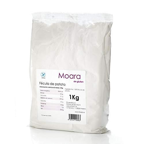 Fécula de patata sin gluten, ecológica y vegana - Harina o almidón de papa BIO (1kg)