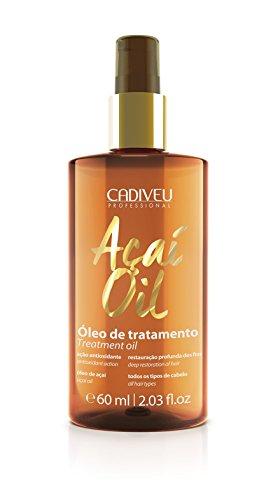 CADIVEU PROFESSIONAL - Acai Oil Smoothing Treatment - (2 Ounces / 60 Milliliters)