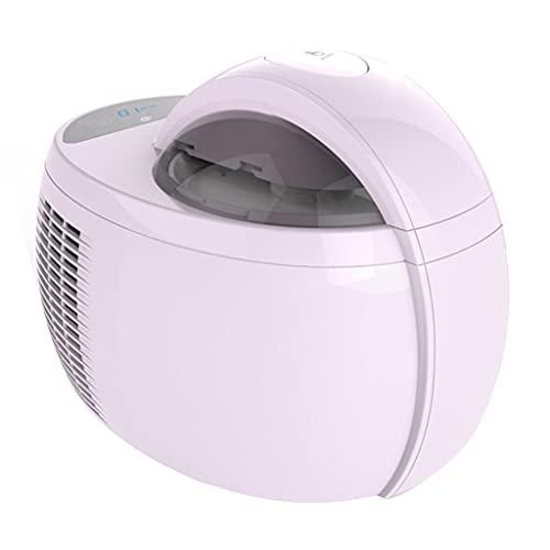 Toppings Máquina De Helado Casera Helado Multifuncional De Refrigeración Automática Pequeña Máquina De Helado Casera Helado Casero De Frutas para Niños (Color : Purple, Size : 30 * 21.5 * 21.8cm)