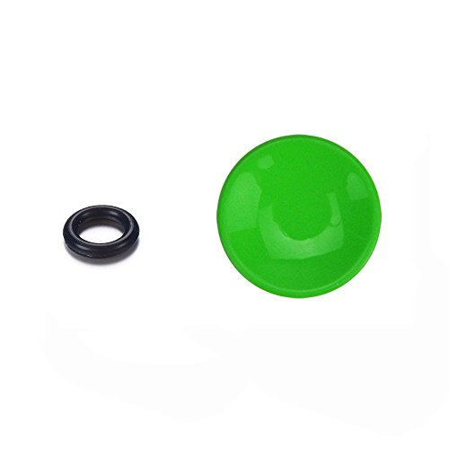 LXH Green Metal Concave Surface Camera Soft Release Button Finger Touch for Fujifilm XT20 X100F X-T2 X100T X100 X100S X-PRO2 X-T10 X-PRO1 Leica M1 M2 M3 M6 M7 M8 M9 Nikon Df, M2, F3 (Green)