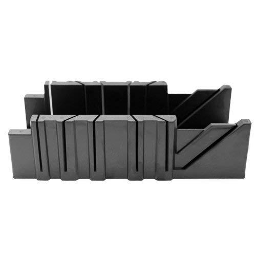"""VOREL 29319 - caja de ingletes de plástico de 3,5""""/ 4 ángulos /"""