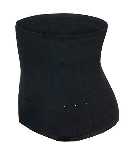 Qchomee Nierenwärmer Winter Rückenwärmer Nierenschutz Wärmeschutz Wärmegürtel Kaschmir Weich Leibwärmer Atmungsaktiv Taille Unterstützung Taille Wärmer Elastisch Warm Bauchgürtel für Damen Herren