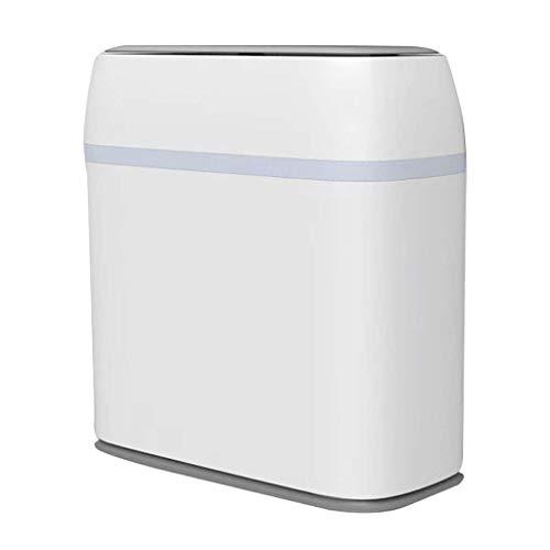 LZZB Mülleimer Combo Set Abfall Papierkorb Haushalt Wohnzimmer Küche Bad Toilette Kreativer Mülleimer mit großer Kapazität Papierkorb Papierkorb Papierkorb (Farbe: Blau)